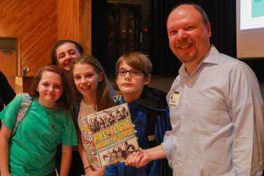 Visit to Carl Sandburg Middle School, Alexandria, Virginia