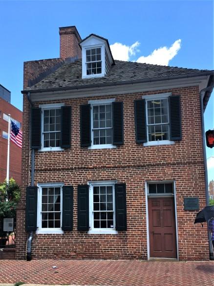 Mary Pickersgill's house