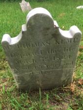 Thomas Kemp grave