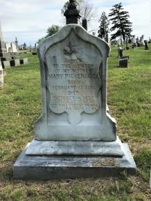 Mary Pickersgill grave